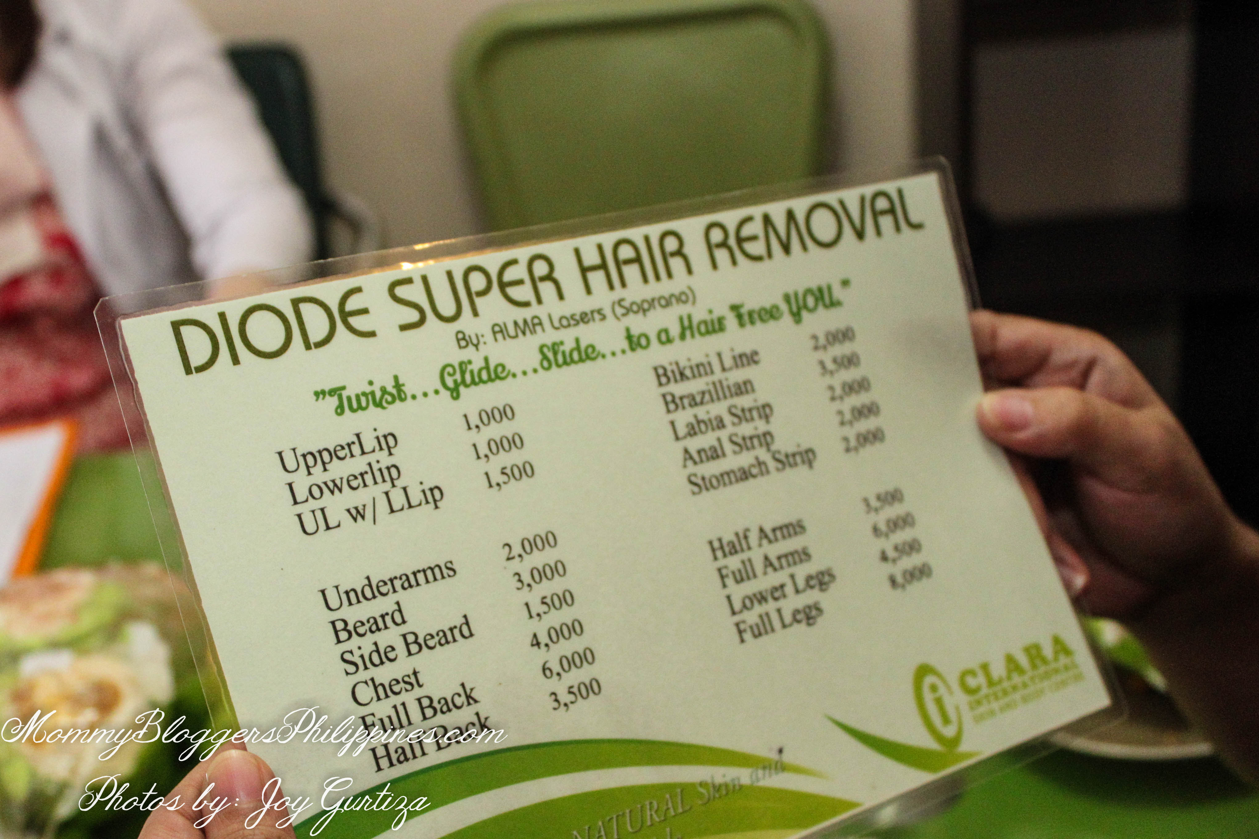 Laser Hair Removal Price In Philippines