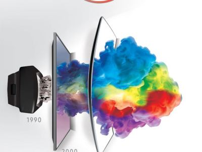 Samsung Curve it up TV