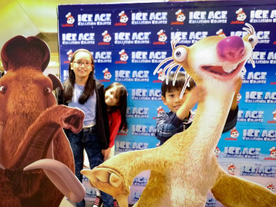 Jollibee special movie screening of Ice Age: Collision Course