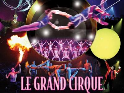 Le Grand Cirque at the Big Dome