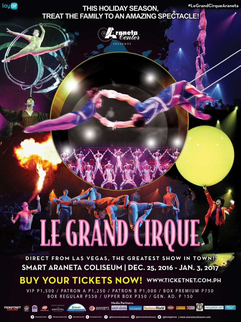 See the electrifying performances of le grand cirque at - Le grand cirque boutique ...