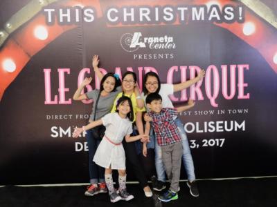 Le Grand Cirque in Manila 2016 - 2017