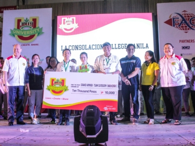 Jolly University Winners