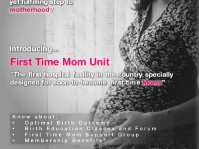 Delgado Hospital First Time Mom Unit