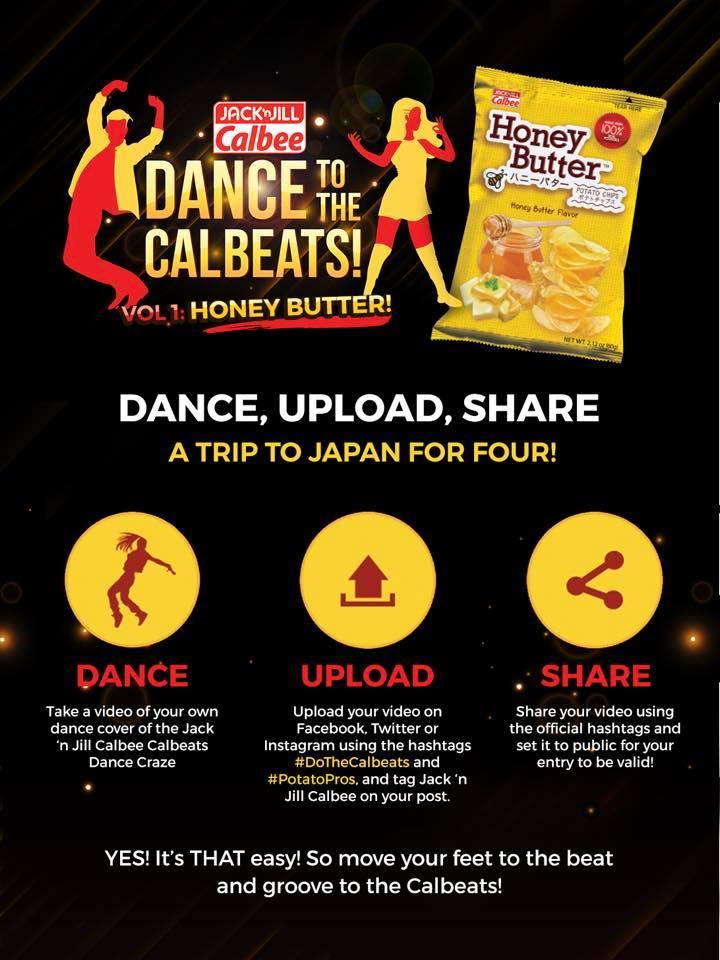 Calbee Dance Challenge