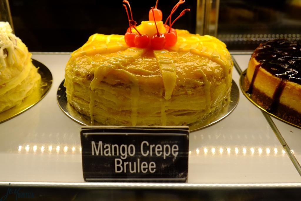 Mango Crepe Brulee