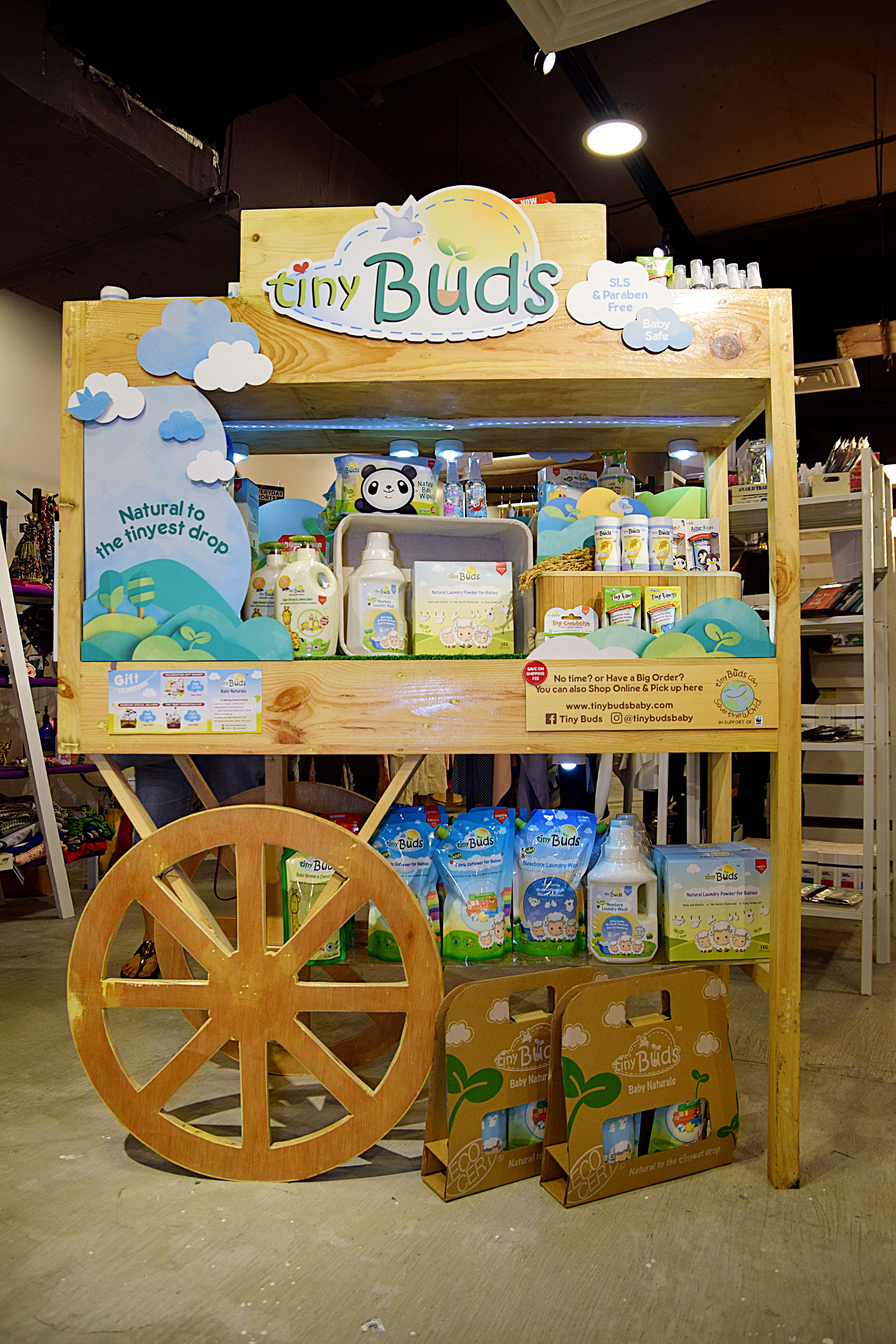 Tiny Buds Booth