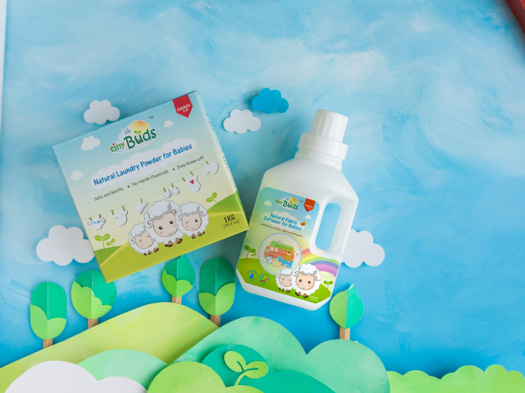 Tiny Buds Laundry Products