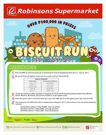 biscuit run robinsons