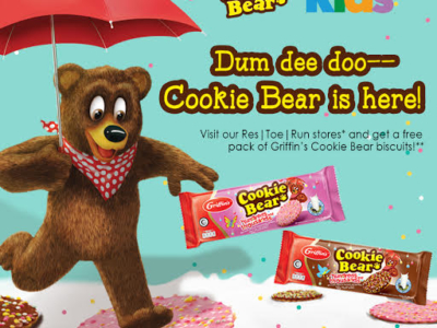 Griffin's Cookie Bear biscuits