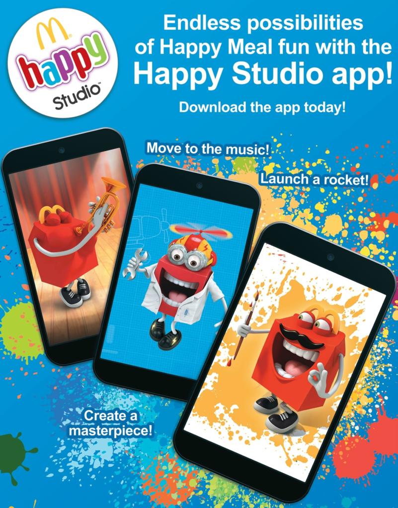 McDonalds Happy Studio